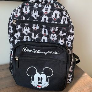 Disney parks mickey mouse comic black backpack